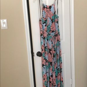 FOREVER 21 JUMPSUIT FLORAL XL BRAND NEW